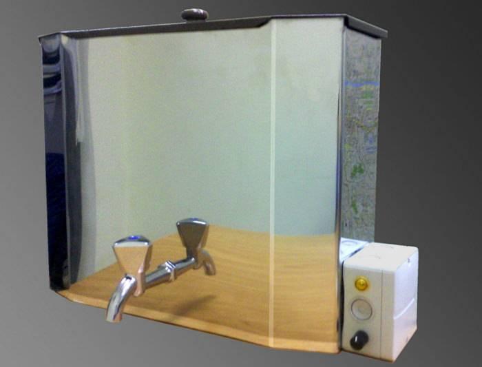 Умывальник с водонагревателем для дачи