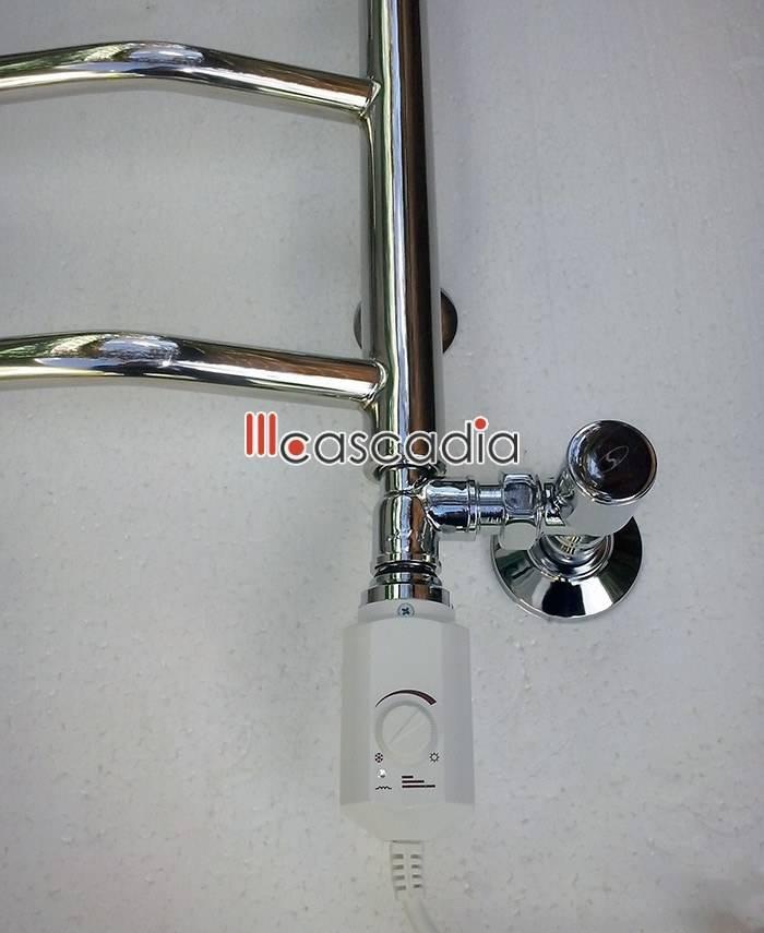 Полотенцесушитель водяной и электрический одновременно