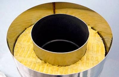 Отопительная печь с теплообменником