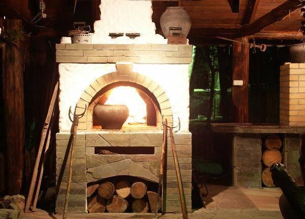 Мини печь русская печь