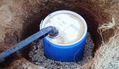 Выгребная яма для дачного туалета