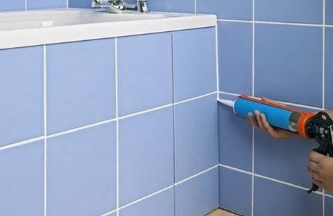 Силикон для ванных комнат