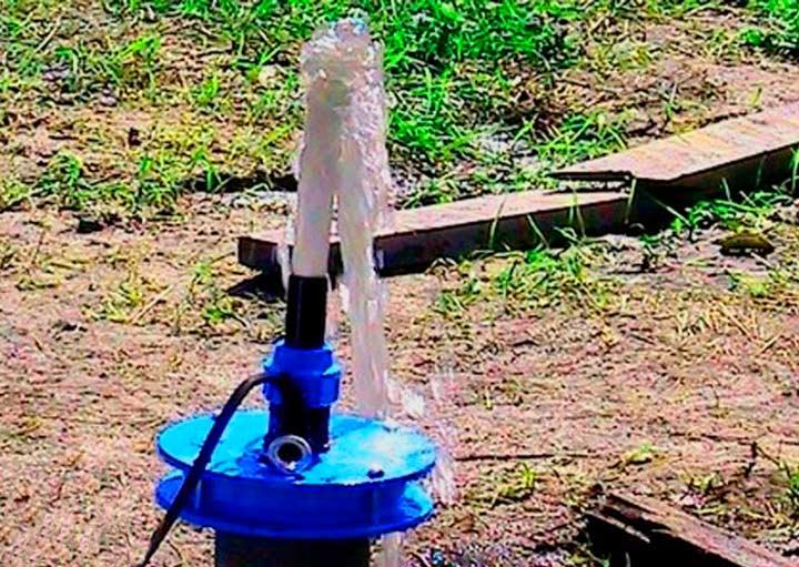 Водолей глубинный насос для скважины