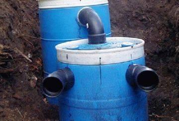 Пластиковые септики для канализации