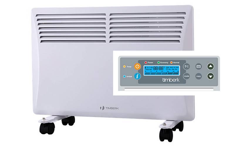 Электрический конвектор с электронным термостатом