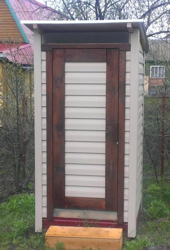 Построить дачный туалет