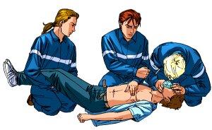 Удар током первая помощь