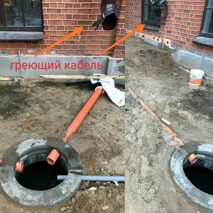 Провод для обогрева водопроводных труб