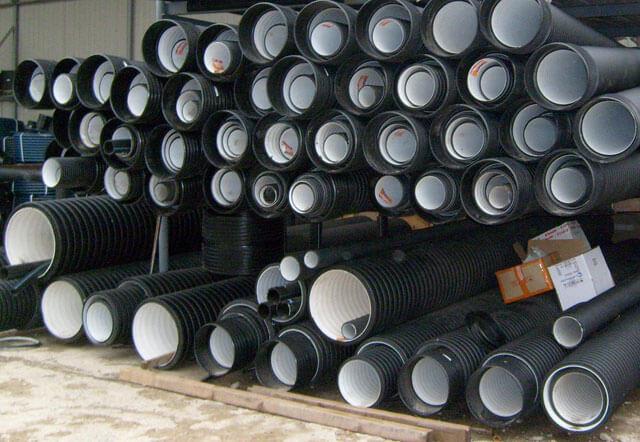 Напорная канализация трубы