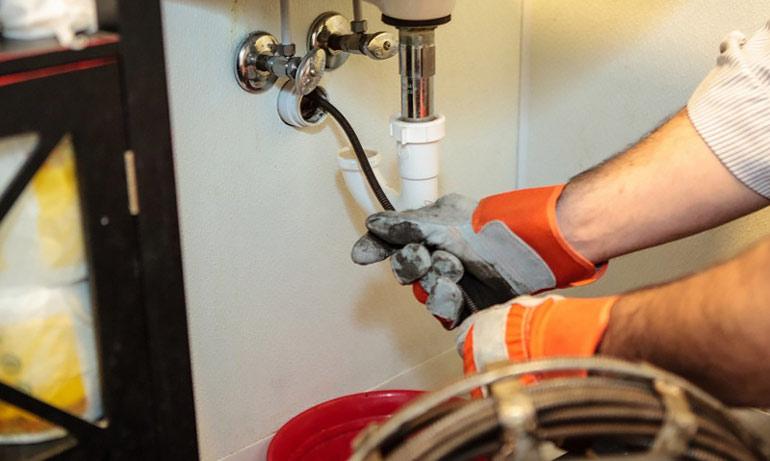 Тросик для чистки канализации