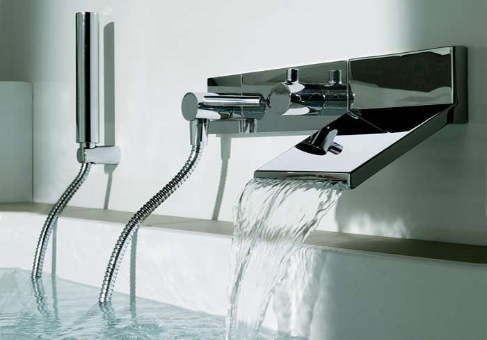 Типы смесителей для ванной