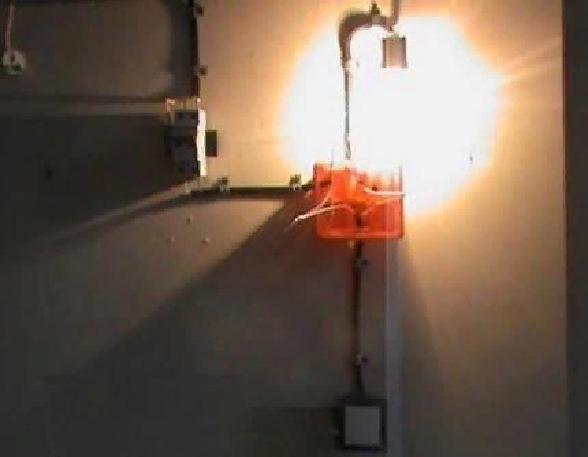 Подключение одноклавишного выключателя света
