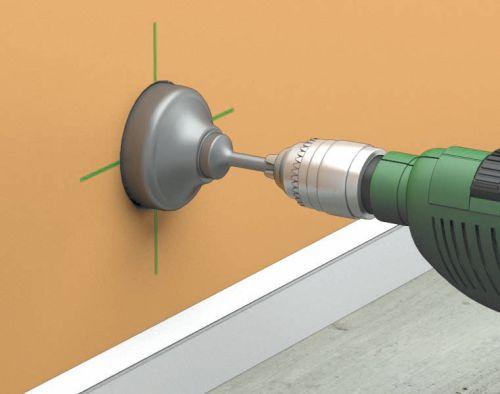 Коронка по бетону для розеток диаметр