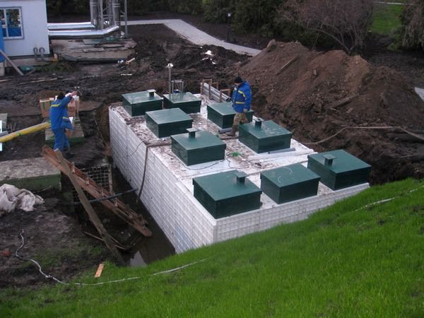 Сооружения для очистки сточных вод