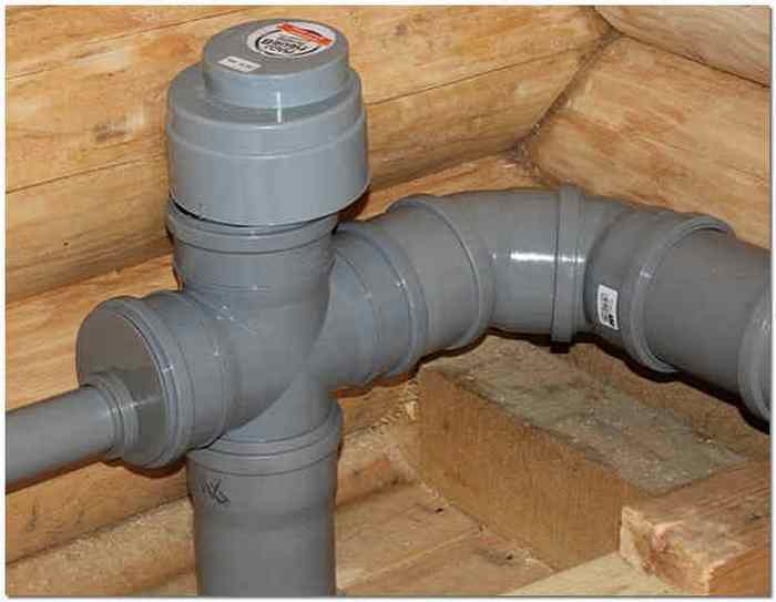 Клапан на канализацию от запаха