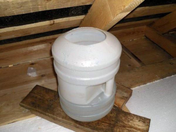 Расширительный бак для отопления открытого типа пластиковый