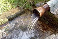 Как забить трубу в землю для воды