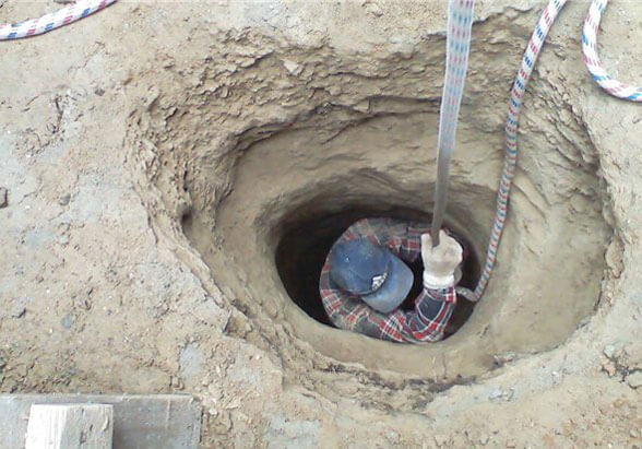 Строительство выгребной ямы в частном доме
